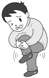 マグネシウム不足によりこむら返りが起こる男性