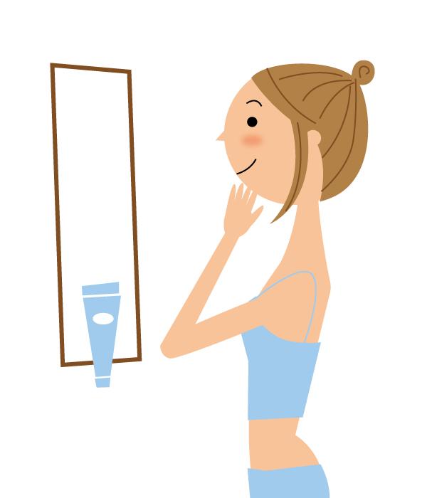 化粧品にも使用されている美肌・老化防止成分であるパルミトレイン酸の図