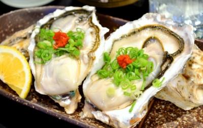 亜鉛を多く含んだ牡蠣の料理写真