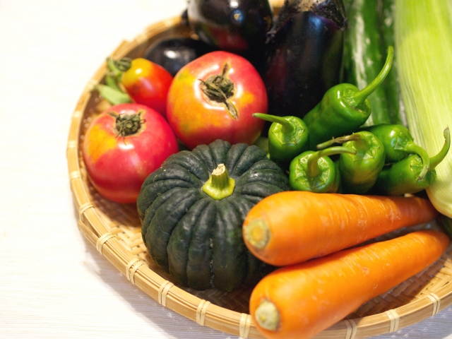 野菜のビタミン