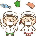 ユーグレナ入りの給食を試食した小中学生は笑顔でいっぱい