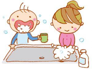 手洗い・うがいにプラスミドリムシで免疫力UPに期待!