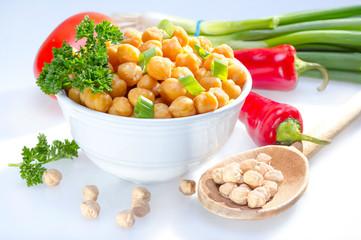 非水溶性食物繊維のひよこ豆